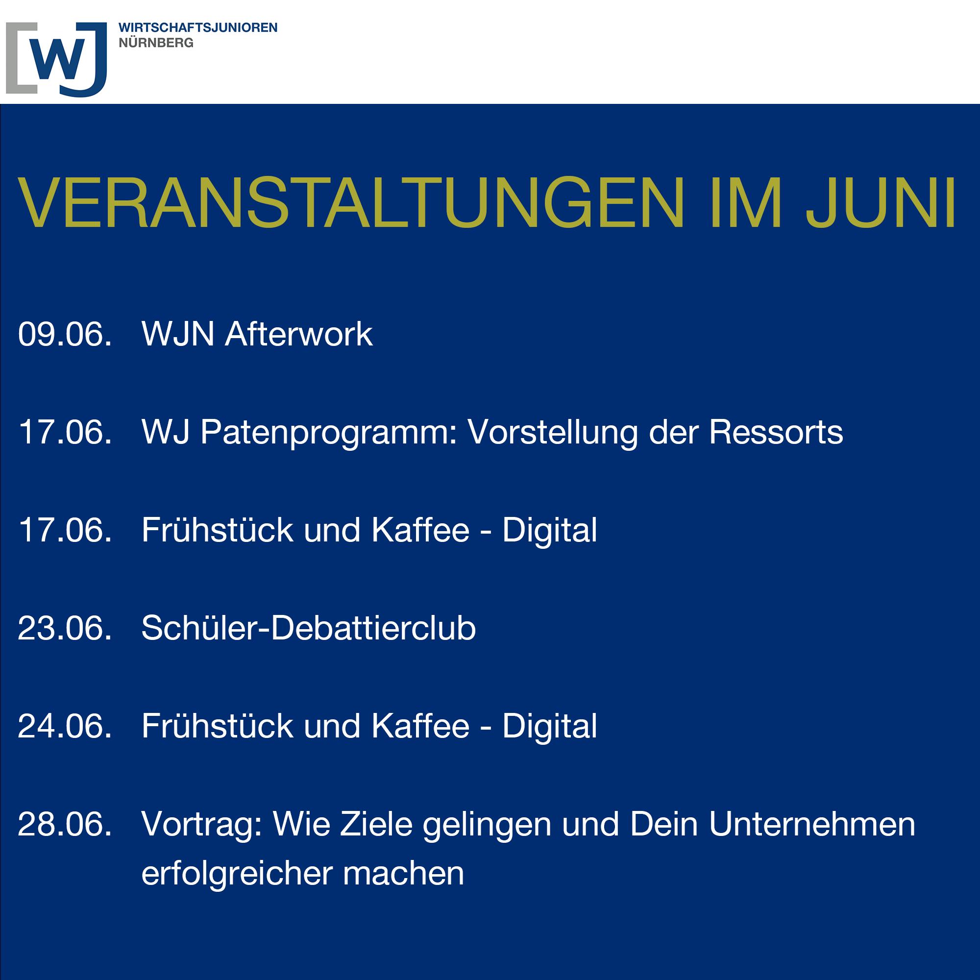 Programm im Juni