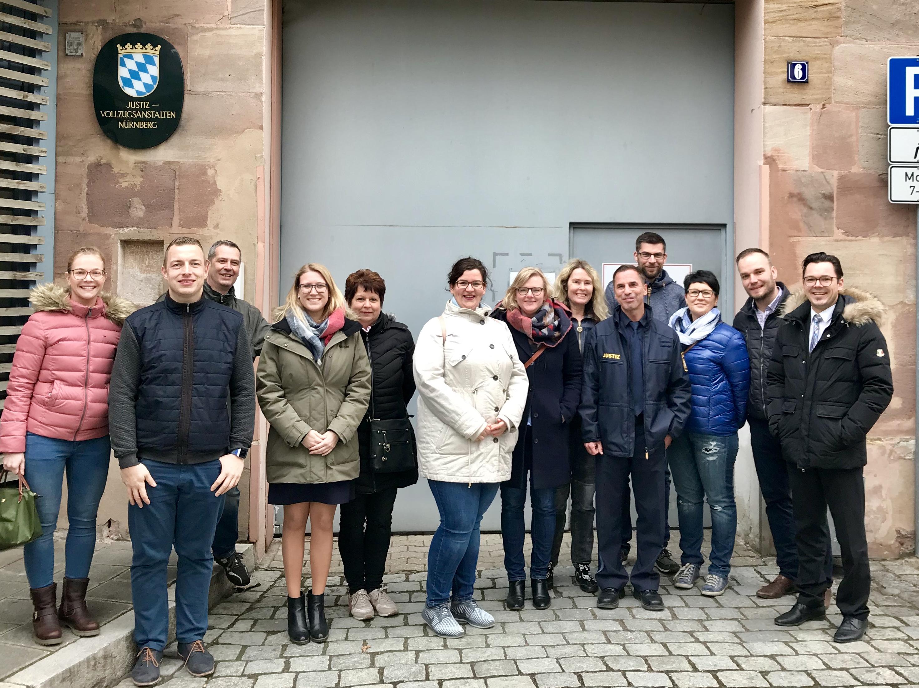 Besuch JVA Nürnberg