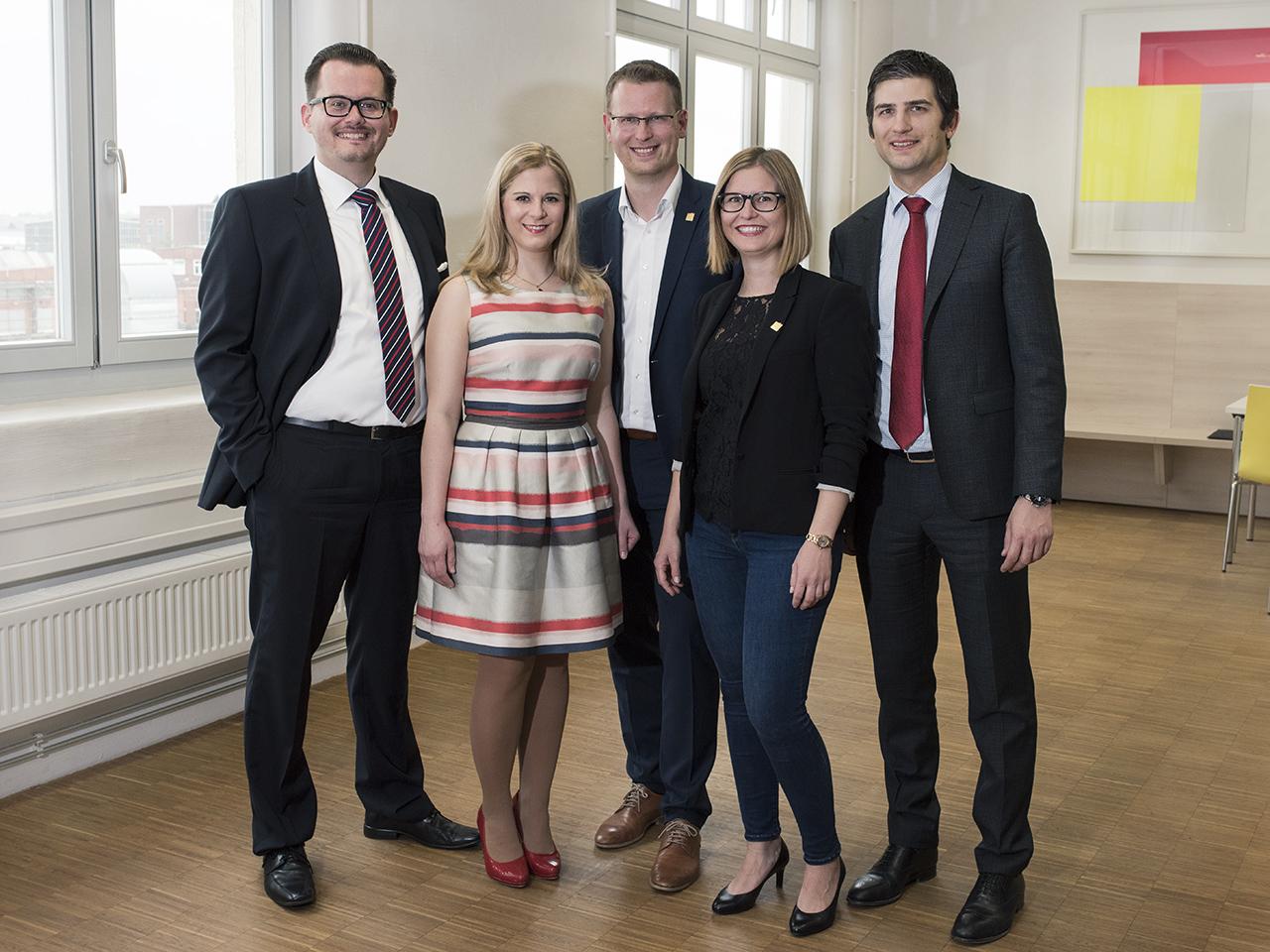 Vorstand der WJ Nürnberg 2017 Foto: Alex Riemath